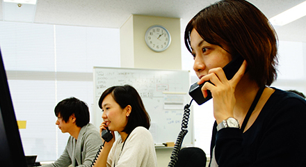 コールセンタースタッフ採用情報