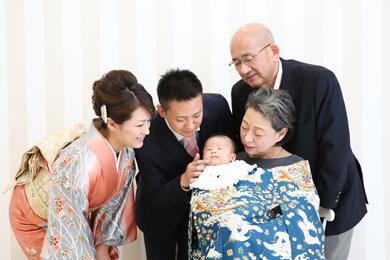 名古屋金山店 / Cherie / ベビー / お宮参り / 家族写真
