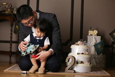 名古屋金山店 / Hisui / 男の子 / 家族写真 / 誕生日