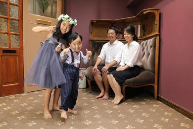 表参道店 / Crimson / 女の子 / 男の子 / 家族写真