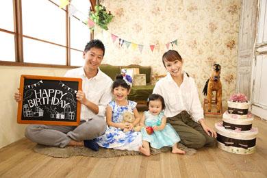 横浜みなとみらい / Vertlime / ベビー / 女の子 / 家族写真 / 誕生日