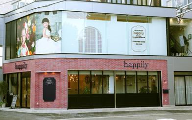 happilyフォトスタジオ名古屋金山店