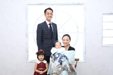 自由が丘店 / Forest / 家族写真