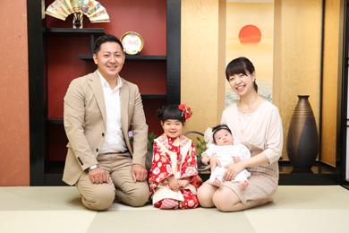 自由が丘店 / Japonism / 家族写真