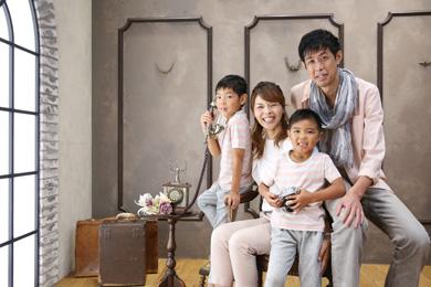 横浜みなとみらい / Noir / 家族写真