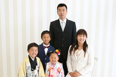 名古屋金山店 / Cherie / 家族写真