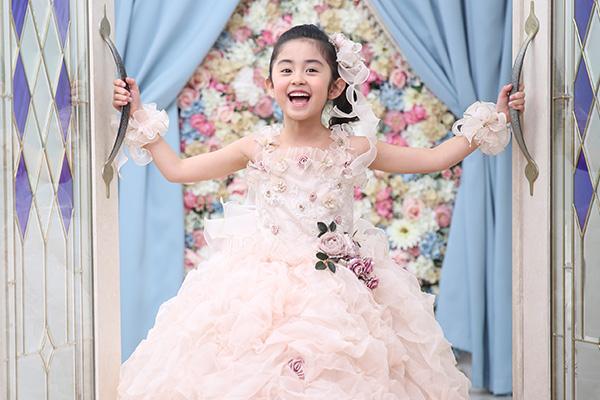 プリンセスドレスイメージ衣装