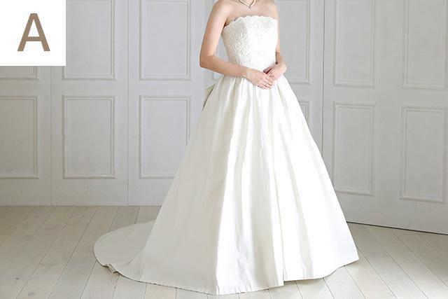 ウェディングドレス A