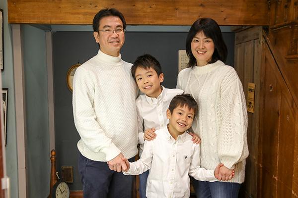 年賀状家族撮影イベント イメージ