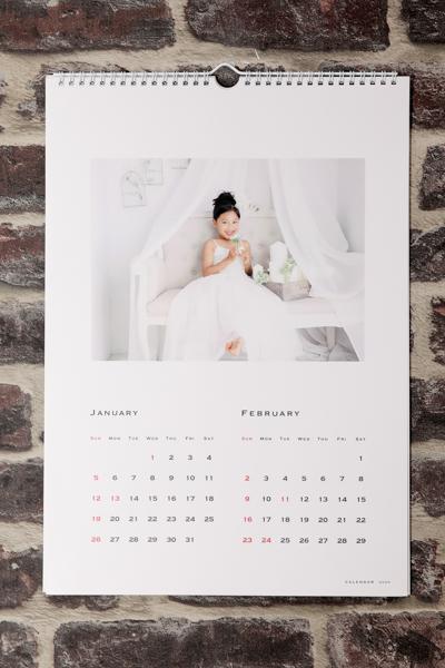 1年間の想い出を一緒に~ファミリーカレンダー イメージ