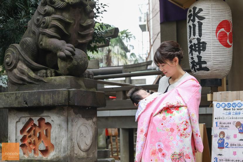 上目黒氷川神社(目黒区)お宮参り