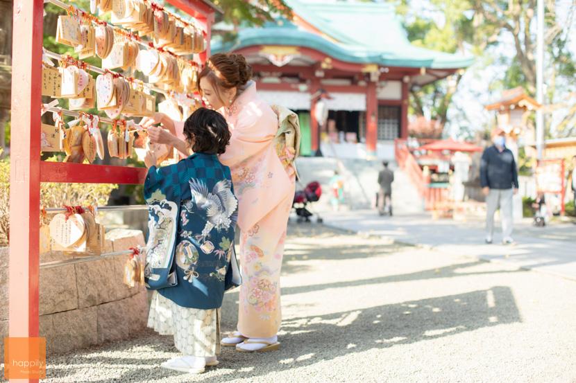 多摩川浅間神社(大田区)七五三