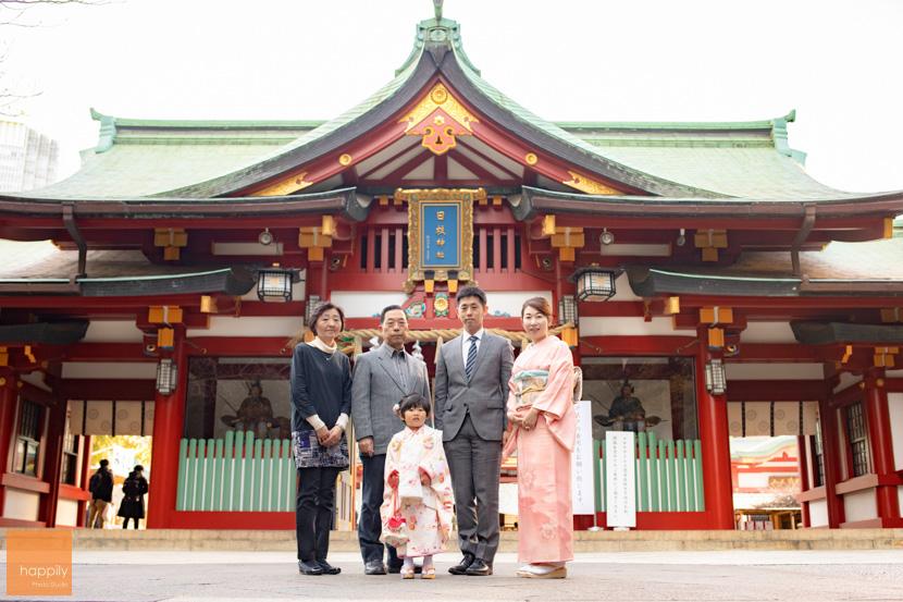 日枝神社(千代田区)七五三