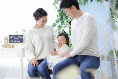 勝どき店 / 女の子 / 家族写真